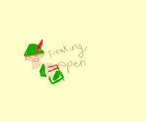 Peter Pan Struggling