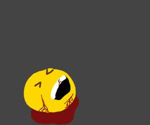 laughing emoji dies painfully