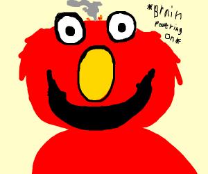 Elmo powering up