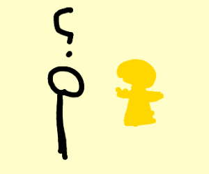 person confused by Ankh