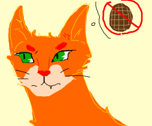 Firestar hates waffles