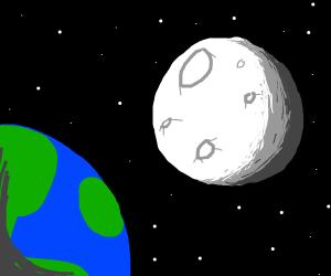 Moons Orbiting SE