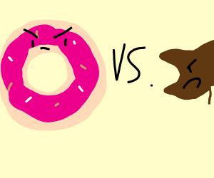 pink doughnut x rhino beetle