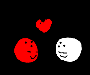 Two bowling balls find love