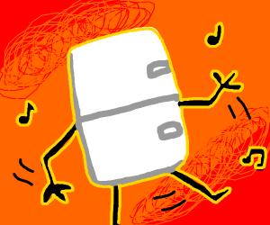 dancing fridge