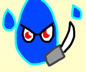 Teardrop that kills