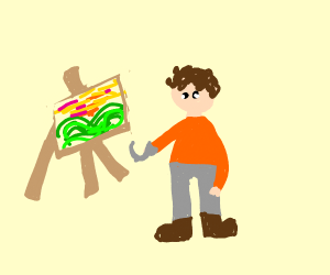 Painting with a Hook