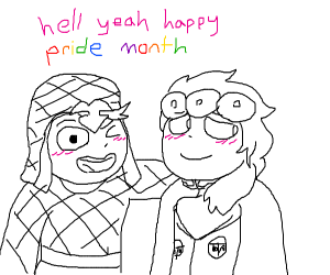 Happy pride my fellow gays!!