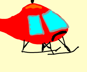Depressed helicopter.