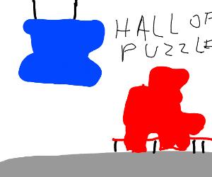 Puzzle pieces museum