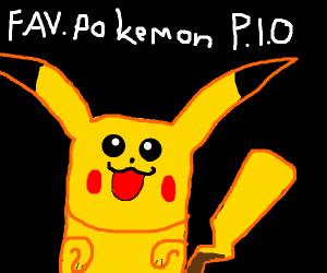 Your favorite pokemon pio