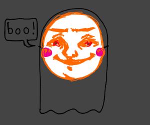 Black Kawaii Ghost Scares uwu