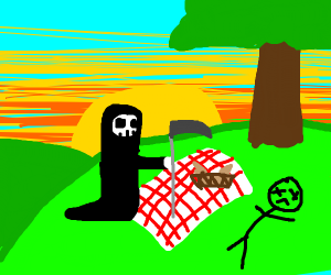 death is here to ruin your picnic