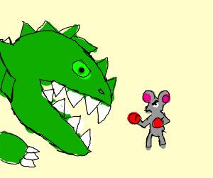 Dinosaur VS Mouse