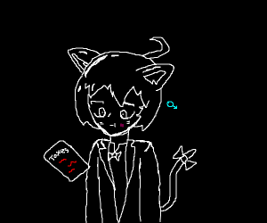 Catman hates taxes