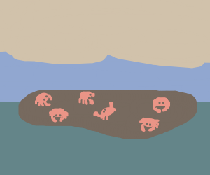 Crabs on a small Island