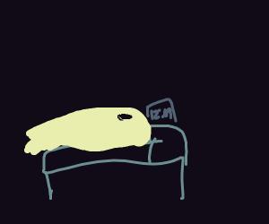 Ghost can't sleep