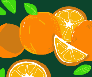 The horrible genocide of the orange fruit
