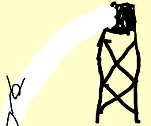 prison search light?