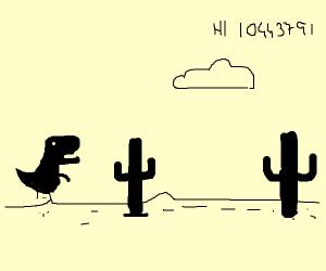 That No Internet Dinosaur Minigame