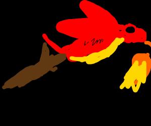 Dragon sick