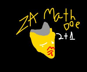 Sexy Za Warudo math teacher