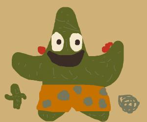 Patrick Star's brother - Patrick Cactus