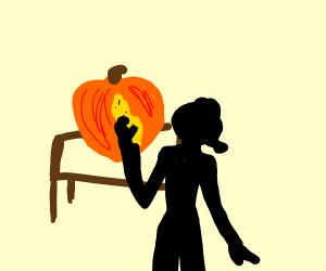 Pumpkin sculptor