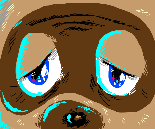 Tom Nook stares into your soul
