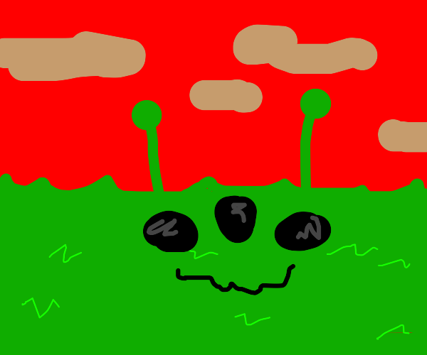 Alien grass