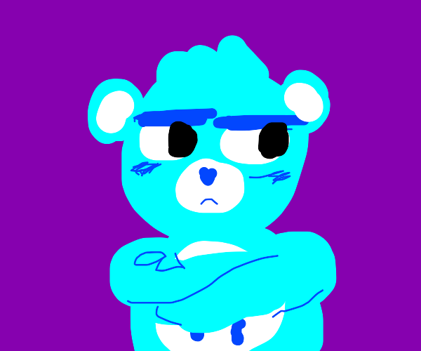 Grumpy bear?