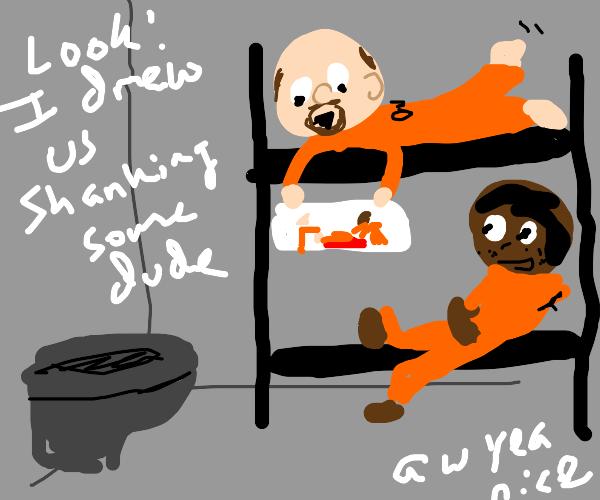 Jail Drawing
