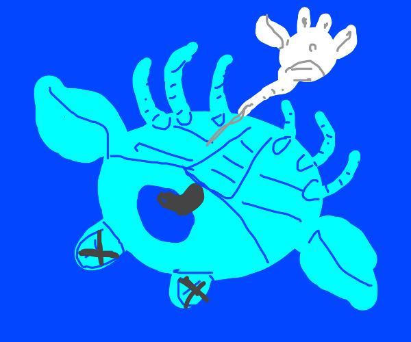 R.I.P blue crab