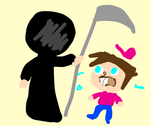 death comes for all, little timmy