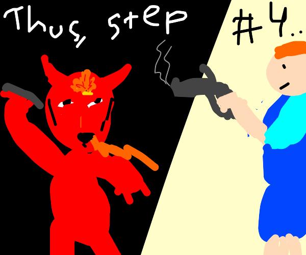 Step 3: Bang Satan