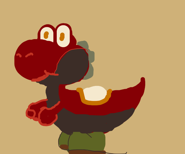 unconventionally colored yoshi