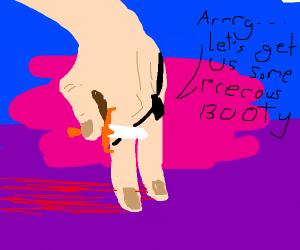 Finger pirate