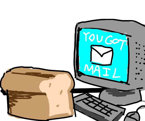 bread gets email