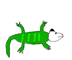 opossum-crocodile hybrid