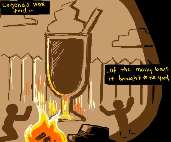 The ancient milkshake!!