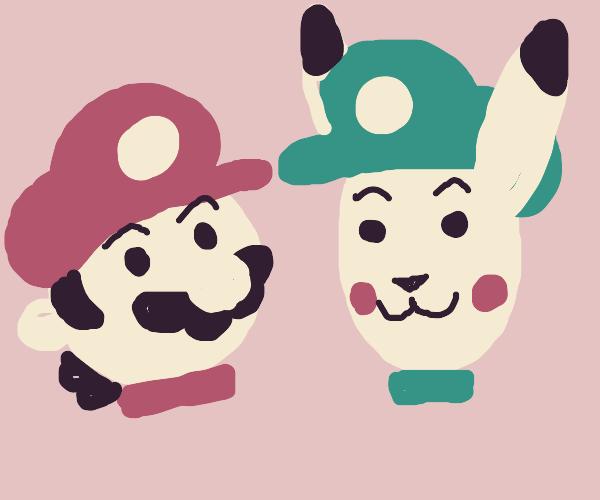 Mario and Chuigi
