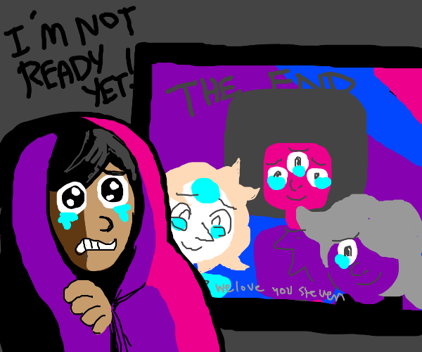 Steven Universe is ending and I'm sad holy fu