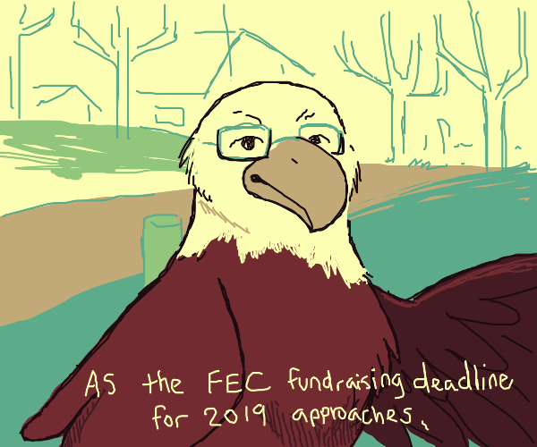 eagle once again is asking for your financial