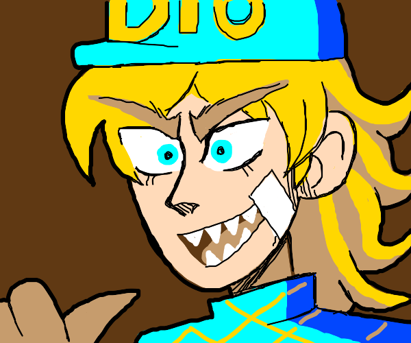 You expected Dio but it was me, DIEGO!