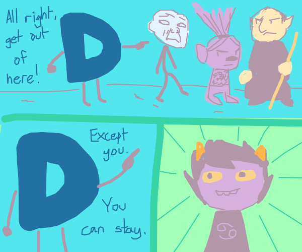 Drawception gets rid of all trolls except one