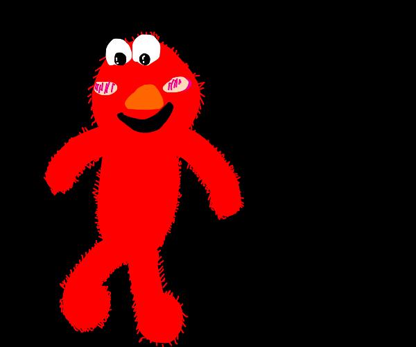 Elmo is adorable