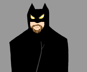 Batman with a Goatee