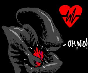 Even aliens experience heartbreak