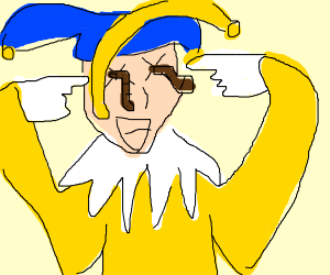 jester has eye worms