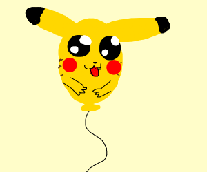 Balloon Pikachu